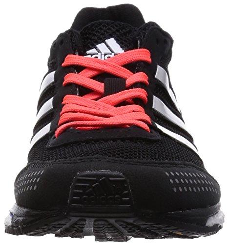 adidas Adizero Adios Boost 2 W - Zapatillas para mujer Negro / Blanco / Rojo