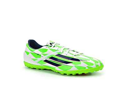 Adidas Sneakers Mens - Adidas F10 In White Blue Green