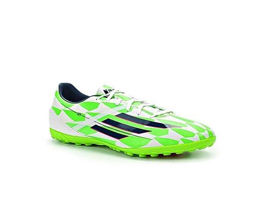 watch 691aa 792a4 adidas F10 TF Soccer Sneaker Shoe - WhiteBlueGreen - Mens - 8