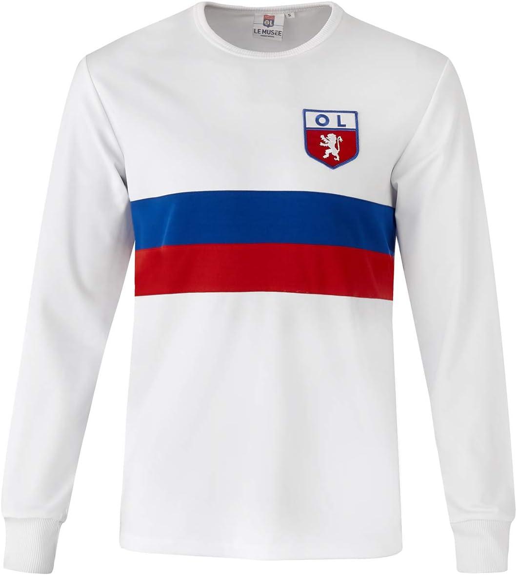 Olympique Lyonnais Maillot OL r/éplica 1966-1967