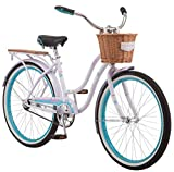 Schwinn Destiny Women's Cruiser Bike, Single Speed, 24' Wheels, Purple
