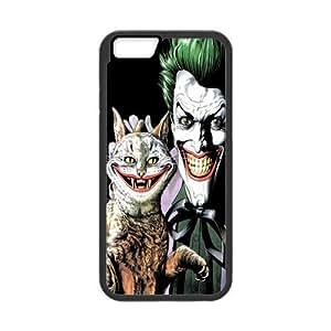 ROBIN YAM Batman Joker Hard TPU Rubber Coated Phone Case Cover for iphone 6 4.7