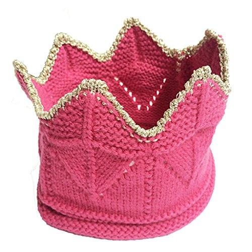 LUNIWEI Baby Toddler Kids Winter Knit Beanie Warm Cap Crown Headband
