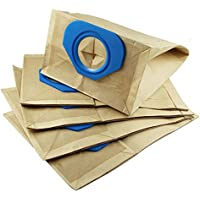 5 Bags Advance Vacuum 5 Bags Advance Vacuum Bags for Nilfisk GM80, GS80, GM80CR, GM80i, GM90, GS90, CFM3101, Compact Vac, GD90C Dust Collection Paper Bags Replace Part# 81620000