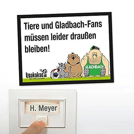 ANTI de Gladbach de timbre – Letrero de Colonia, Leverkusen de, y los