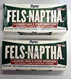 Fels Naptha Laundry Soap Fels Naptha Laundry Soap Bar & Stain Remover - 5.5 oz - 2 pk