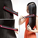 Ocathnon Digital Ceramic Hair Straightener and Hot-air Brush Comb Magic...