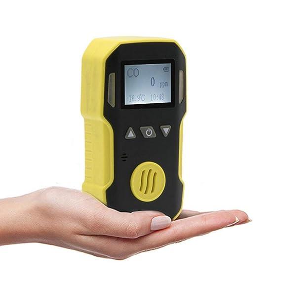 Dailyinshop El hidrógeno sulfuro portátil Detector avanzado MCU para Bajo Consumo energético,Amarillo y Negro: Amazon.es: Hogar