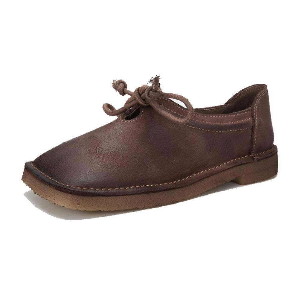 ZPEDY Confort, Chaussures Femme, Respirant Retro, Dentelle, Casual, Individualité, Confort, Respirant B00KW40ZPO Café 2179f2c - reprogrammed.space