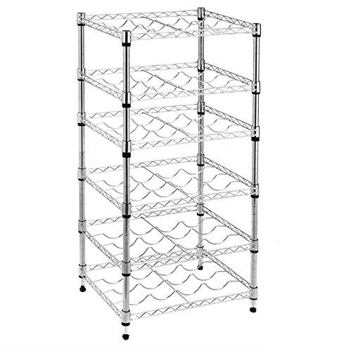 wine rack shelving unit - 6