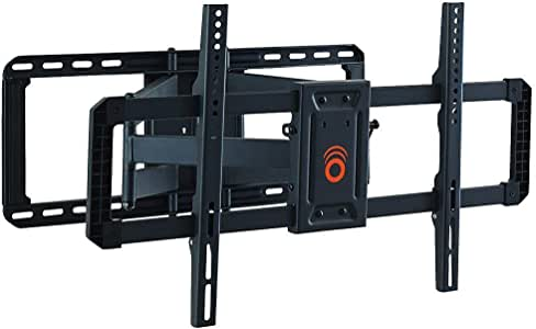 """ECHOGEAR Full Motion Articulating TV Wall Mount Bracket for 42""""-85"""" TVs - Easy To Install On 16"""", 18"""" or 24"""" Studs and Features Smooth Articulation, Swivel, Tilt - EGLF2"""