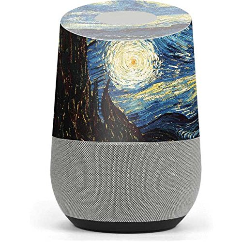 Van Gogh Google Home Skin - van Gogh - The Starry Night Vinyl Decal Skin For Your Home by Skinit