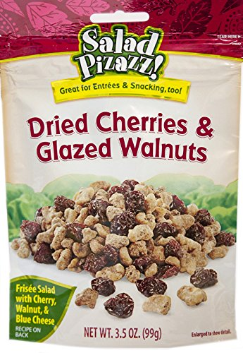(Salad Pizazz Dried Cherries and Glazed Walnuts, 3.5 Ounce (Pack of 12))