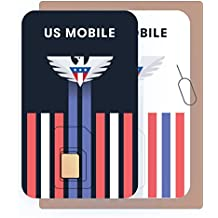 US Mobile Prepaid SIM Starter Kit - Custom plans from 4/mo. Unlimited Plans from 35/mo.