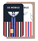 Prepaid SIM Card (US Mobile) - Custom Plans from $4/mo. Unlimited Plans from $10/mo.