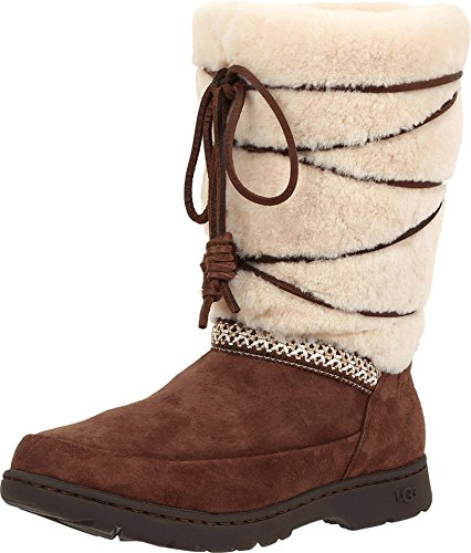 (UGG Australia Women's Maxie Boot, Chocolate, 6)