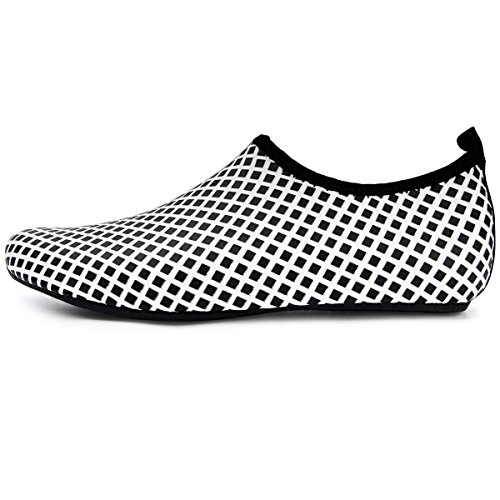 Water RUN L Yoga for Surf Skin black Run Swim Grid Beach Barefoot Shoes Shoes Dive Unisex TwWgqx0dEg