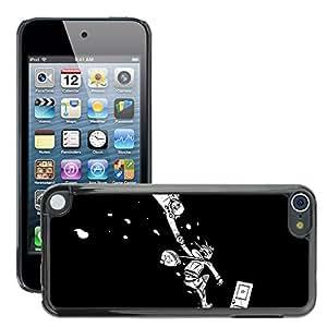 Super Stellar Slim PC Hard Case Cover Skin Armor Shell Protection // M00048526 comic aero cartoon the world // Apple iPod Touch 5 5G 5th