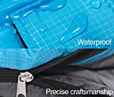 X CHENG Sleeping Bag ECO Friendly Materials Water Resistant Machine Washable Two Bags Can Be Zipped Together 40 Available Perfect For Camping Hiking Comes With Complimentary Gift
