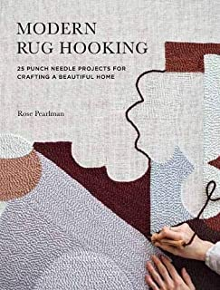 Book Cover: Modern Rug Hooking: 22 Punch Needle Projects for Crafting a Beautiful Home