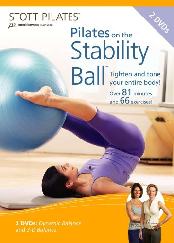 STOTT PILATES Pilates on the Stability Ball DVD 2 DVD Set