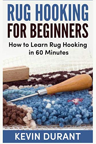 Rug hooking for beginners: how to learn rug hooking in 60 minutes and pickup a new hobby!