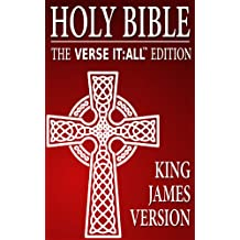 KING JAMES BIBLE (KJV): Verse It:All Edition of The King James Bible