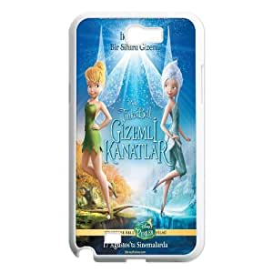pixie hollow games TinkerBell poster phone Case Cove For Samsung Galaxy Note 2 Case XXM9139451