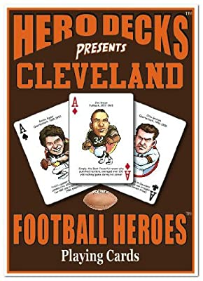 Hero Decks - Cleveland Browns - Playing Cards