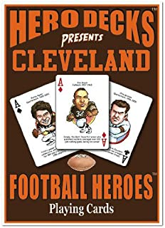 product image for Channel Craft Hero Decks - Cleveland Browns - Playing Cards