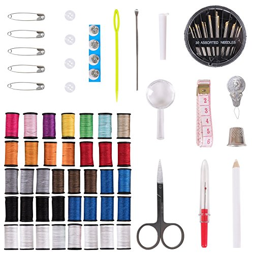 Generic ng Kit Thr Thread Hand g Kit Thread Stitching Travel Hand Sti Craft titching Travel Professional Sewing Kit Home Craf Set Home - Sti Thread