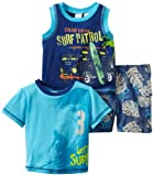 Baby Togs Baby Boys' 3 Piece Short Set, Turquoise, 12 Months