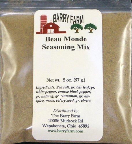 Beau Monde Seasoning, 2 oz. by Barry Farm