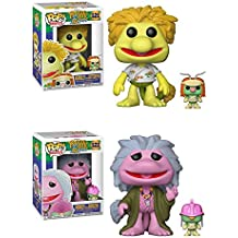 Funko POP! Fraggle Rock: Wembley with Cotterpin + Mokey with Doozer – Vinyl Figure Set NEW