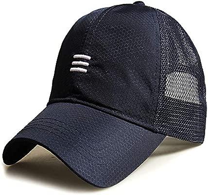 sdssup Sombrero de Malla Masculina de Verano Gorra de béisbol ...