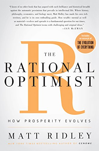 History New York Times Newspaper - The Rational Optimist: How Prosperity Evolves (P.s.)