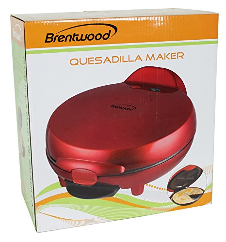 Brentwood Appliances TS-120 Quesadilla Maker, Red