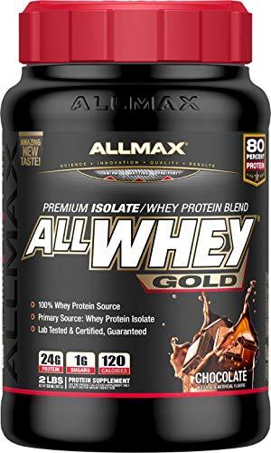 ALLMAX Nutrition AllWhey Gold Whey Protein, Chocolate, 2 lbs