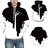 Fxbar Men's Creative Graphics Printing Pullover