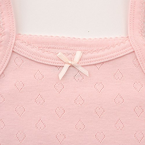 Unisex-Baby Sleeveless Onsies Tank Top Cotton Baby Bodysuit 3-Pack of Cardigan Onsies for Infants