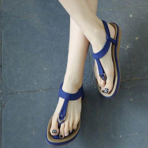 Onewus Azul de Fashion Mujer Sintético rICrawq
