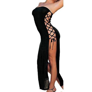 a186f417e5aa0d Dessous Damen,Binggong Mode Frauen Sexy Bandage Kleid Unterwäsche Gewürz  Versuchung Unterwäsche Nachtwäsche Dessous Ouvert Lustiges Nachthemd  Reizvoller ...