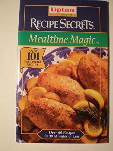 Lipton Recipe soup Mix Recipe Secrets Mealtime Magic
