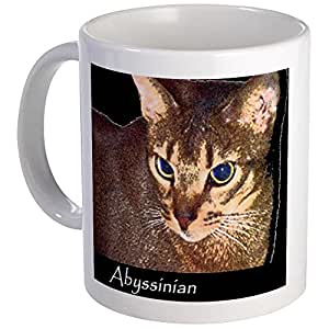 CafePress - Abyssinian Cat Mugs - Unique Coffee Mug, Coffee Cup