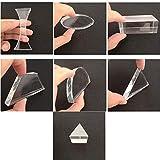 Optical Glass Lens and Prism Set 7 Piece