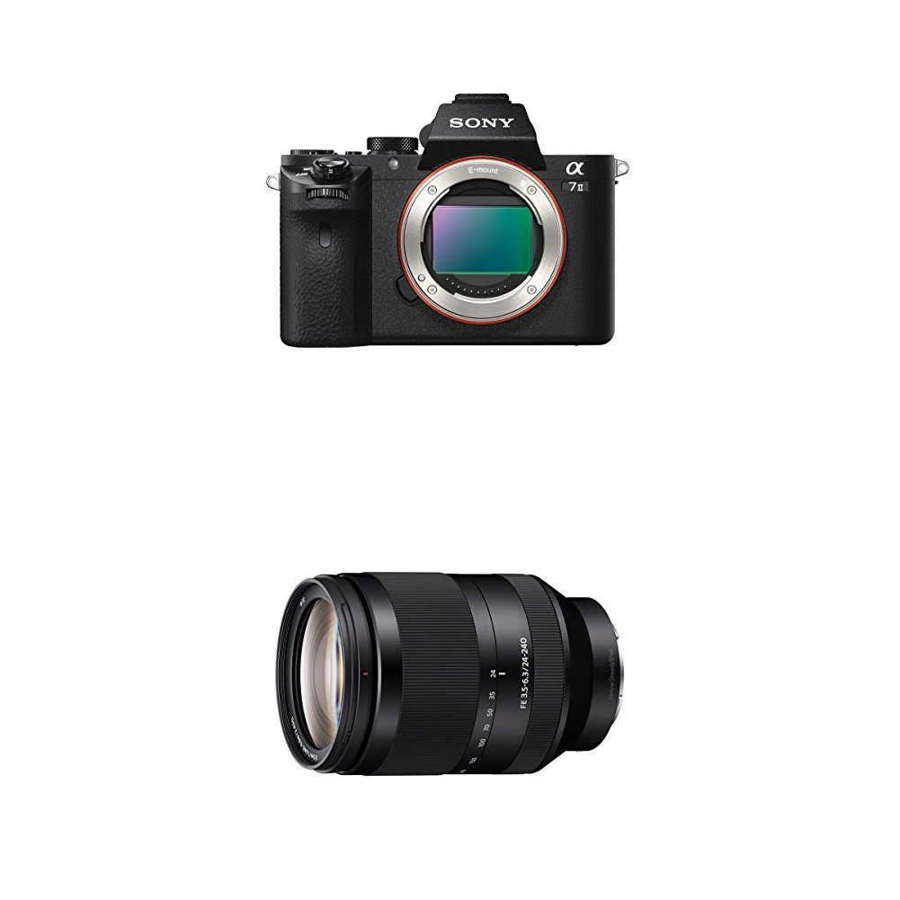 Sony Alpha a7II Interchangeable Digital Lens Camera - Body Only ILCE7M2/B