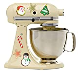 Christmas Decorated Cookies Cute Holiday Characters Kitchenaid...