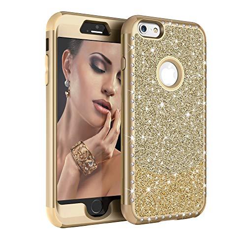 iPhone 6 Plus Case, iPhone 6S Plus Case,UZER Three Layer Sho