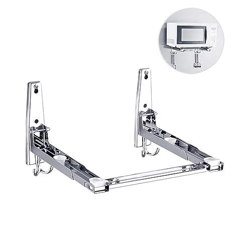 Soporte universal para microondas, ajustable y resistente, acero ...