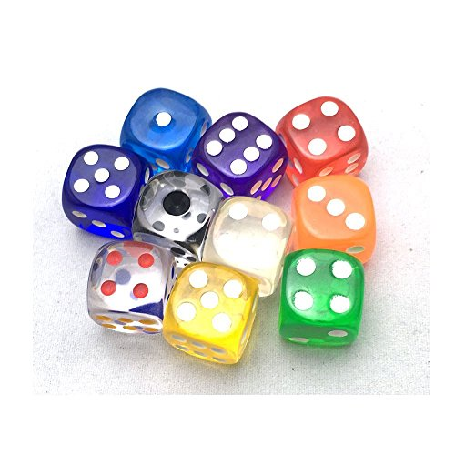 Alasa Transparent Dice by Alasa